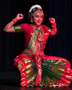 Meghana Chamarty Arangetram