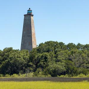 Bald Island Lighthouse, NC.