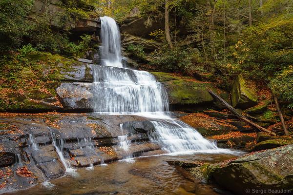 Maiden Hair Falls, NC