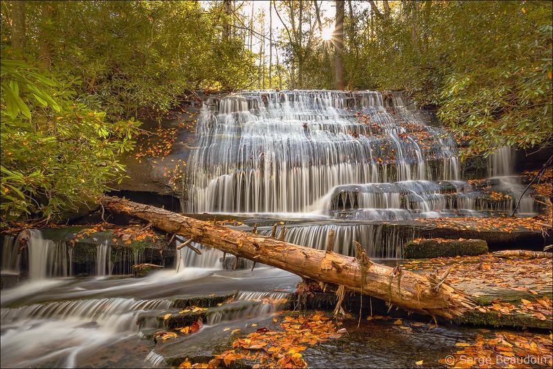 Grogan Creek Falls, NC