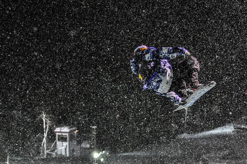 Shawn White Drifting in the Snow
