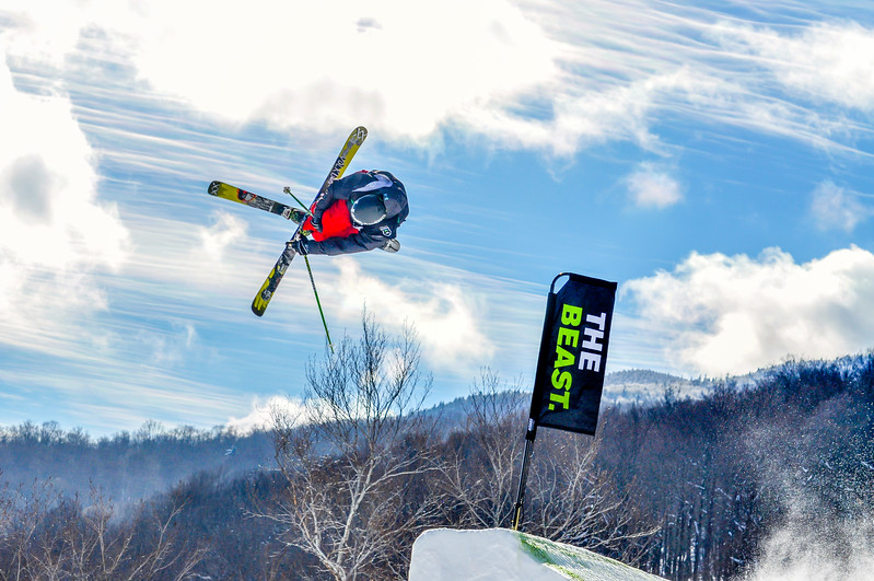 Skiing the Beast