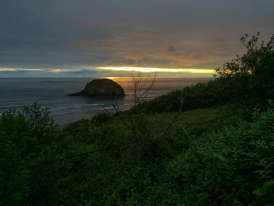 Sunset, Oregon Coast, 2017