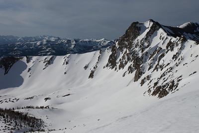 NE face of Peak 10,834