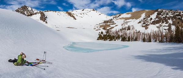 Refueling at Lake 9,346.