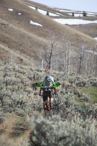 Even the short uphills were grueling.