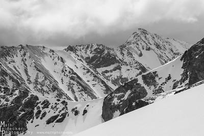 Ryan Peak and it's dramatic NW ridge