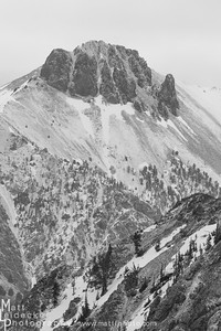 The un-named peak 10,860 at the head of East Pass Creek.