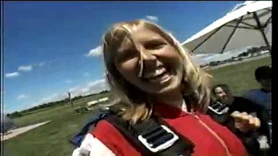 In 2007, Canada's Erika Sullivan decided to do something she'd always wanted to do - throw herself out of a plane! Who wouldn't, after all?