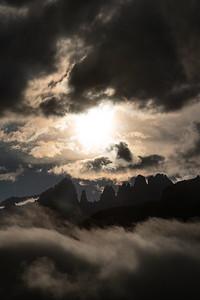 Brenta Sunset - Andalo, Trento, Italy - August 22, 2020
