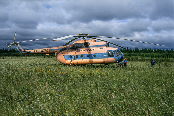 Helicopter - Somewhere in Kamčatka, Russian Federation - Summer 1993