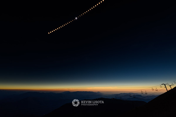 Solar Eclipse Time Lapse - Bald Mountain, Idaho