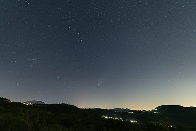 Comet Neowise - Castelnovo ne' Monti, Reggio Emilia, Italy - July 19, 2020