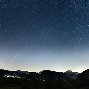 Comet Neowise - Villa Minozzo, Reggio Emilia, Italy - July 19, 2020