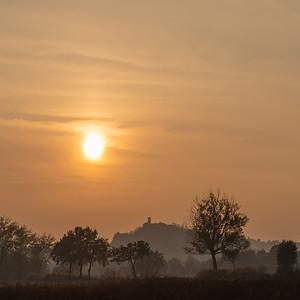 Sunset - Quattro Castella, Reggio Emilia, Italy - October 31, 2020