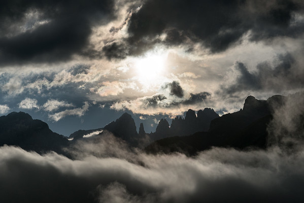 Brenta Sunset - Andalo, Trento, Italy - August 22, 2020