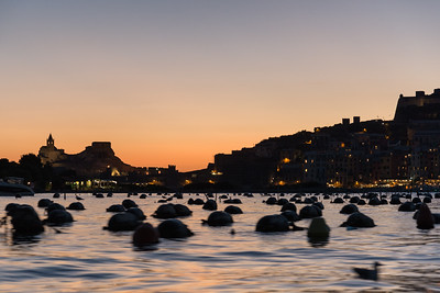 Evening Twilight - Portovenere, La Spezia, Italy - August 28, 2015