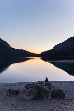 Evening Twilight - Lago di Molveno - Molveno, Trento, Italy - October 29, 2016