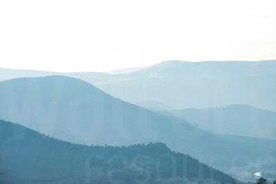 Misty Mountains 004 | Wall Art Resource
