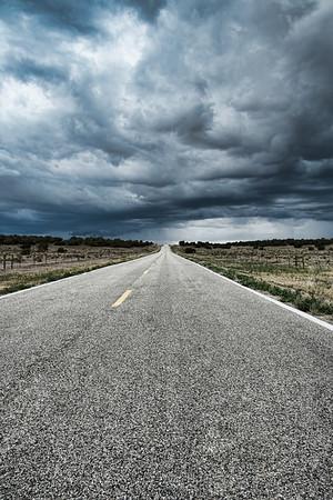 Stormy Highway | Wall Art Resource