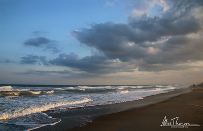 Sunset at Wrightsville Beach, NC