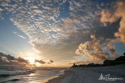 Sunset at Seagrove Beach - Florida