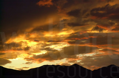 Colorado Springs Sunset | Wall Art Resource