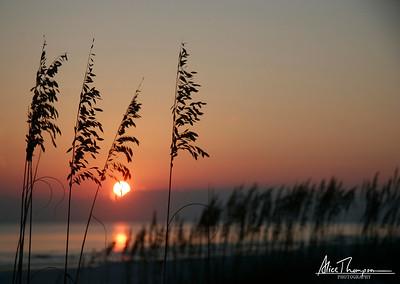 Seagrove Beach sunset, Florida