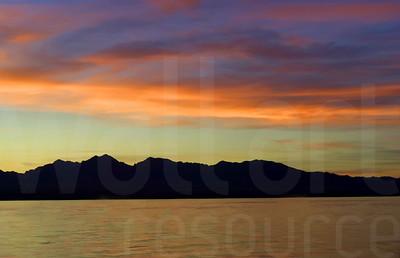 River Sunset | Wall Art Resource