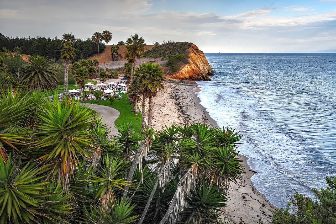 Wedding party,Santa Barbara.