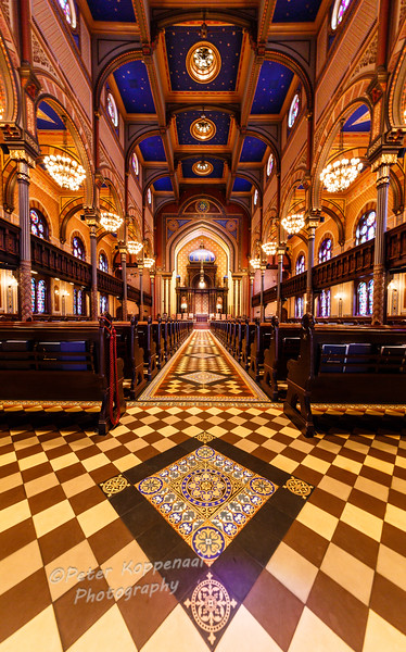 Aisle II, Central Synagogue, New York City