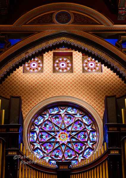 Organ Detail,  Central Synagogue, New York City