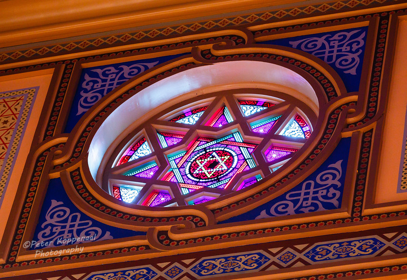 Star of David Window, Central Synagogue, New York City