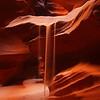 "<font size=""5"" font face=""trajan pro""><b>Quicksand</b></font> <font face=""trajan pro"">Antelope Canyon, Arizona</font>   Sand sliding off a sandstone ledge in a slot canyon in northern Arizona."