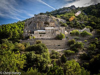 Monastery in the Hillside