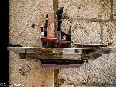 Scrap Model Ship