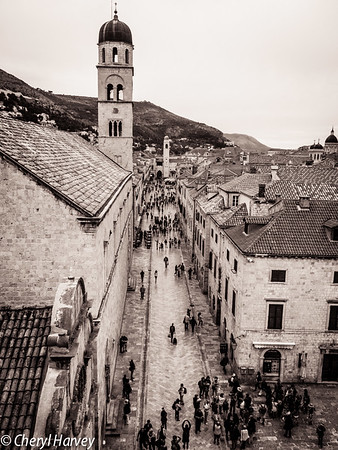 Dubrovnik: From The Wall