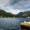 Kotor Bay from Perast Pier