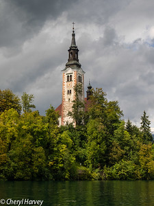 Bled Island's Church