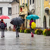 Umbrellas in Radovljica