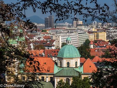 Ljublijana City View