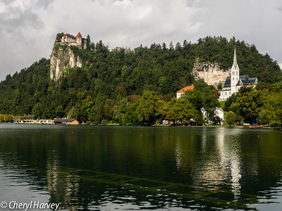 Bled Castle and St. Martin's Church