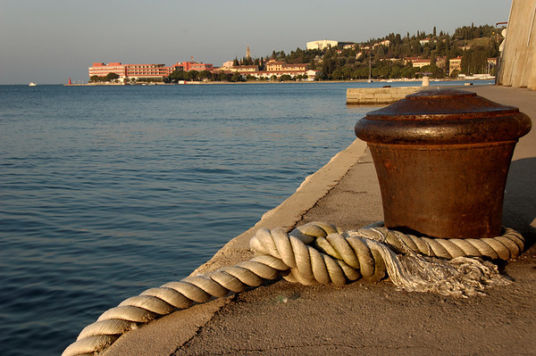 A cold January day in Piran