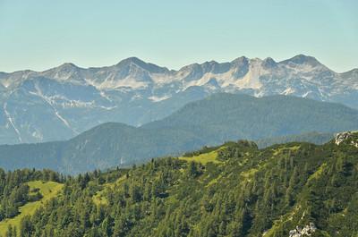 South bow of Julische Alpen