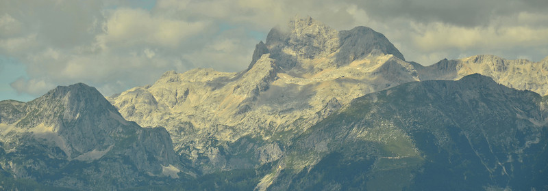Triglav from Kobla