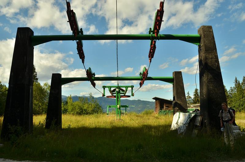 Skiing area Na Kalu