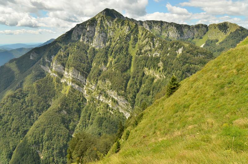 Views from Kobla range