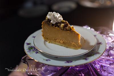 Maple Pumpkin Walnut Cheesecake