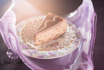 Chocolate Chocolate Cheesecake Slice