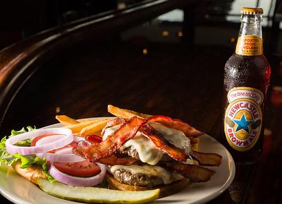 1 lb Bacon Cheeseburger with provolone